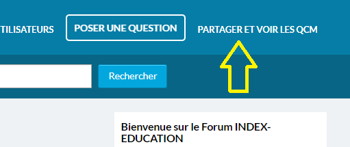 Bibliothèque QCM Index Education